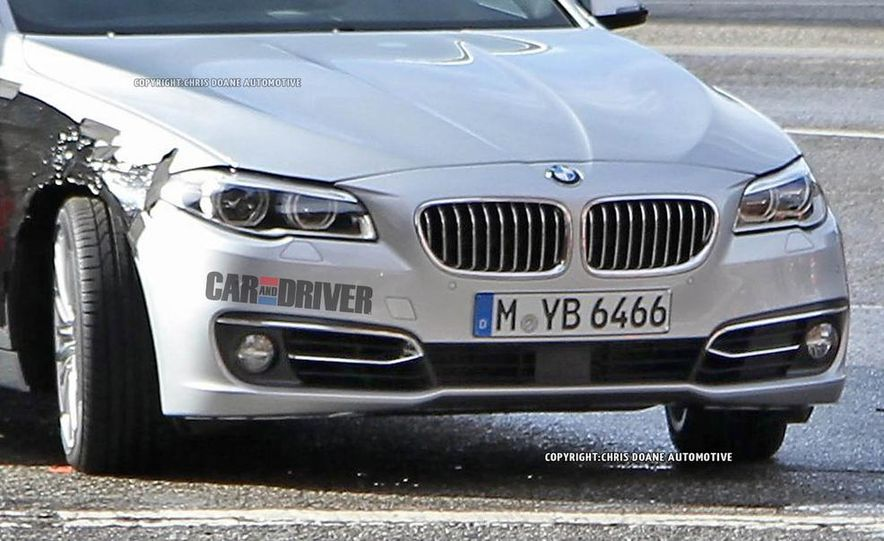 2014 BMW 5-Series (spy photo) - Slide 3
