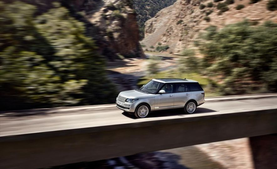 2014 Land Rover Range Rover Sport (spy photo) - Slide 14
