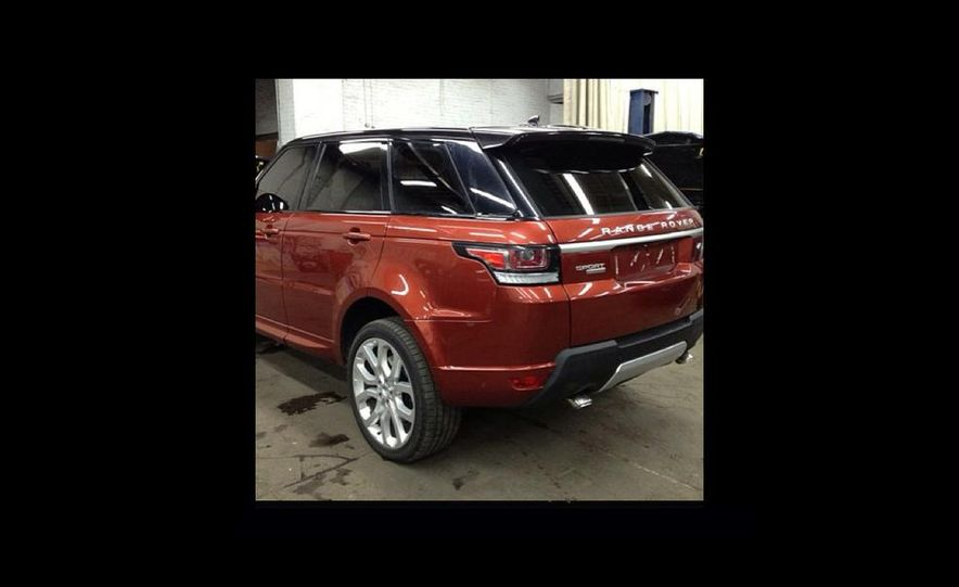 2014 Land Rover Range Rover Sport (spy photo) - Slide 2