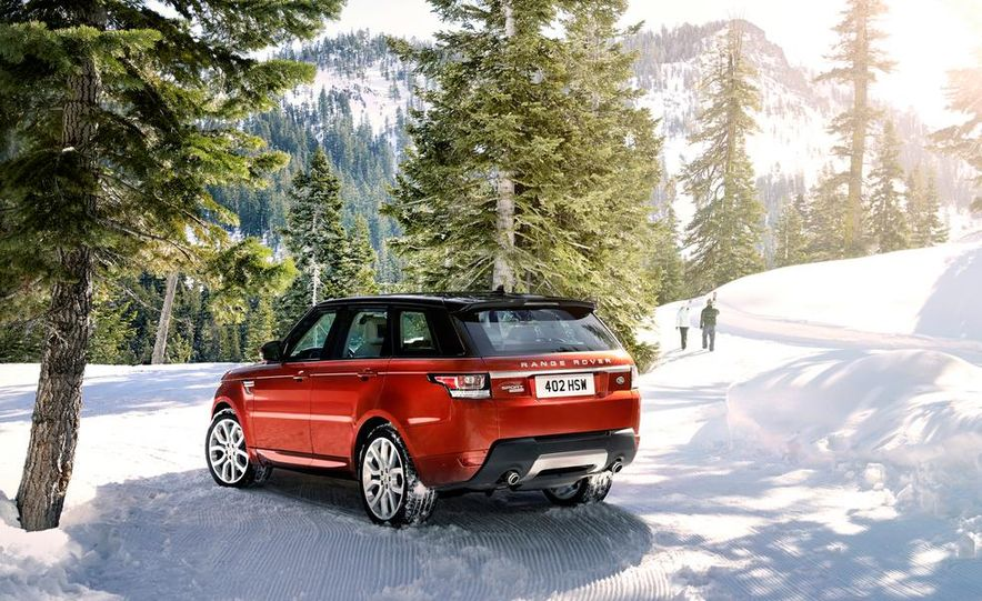 2014 Land Rover Range Rover Sport - Slide 28