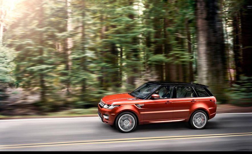 2014 Land Rover Range Rover Sport - Slide 35