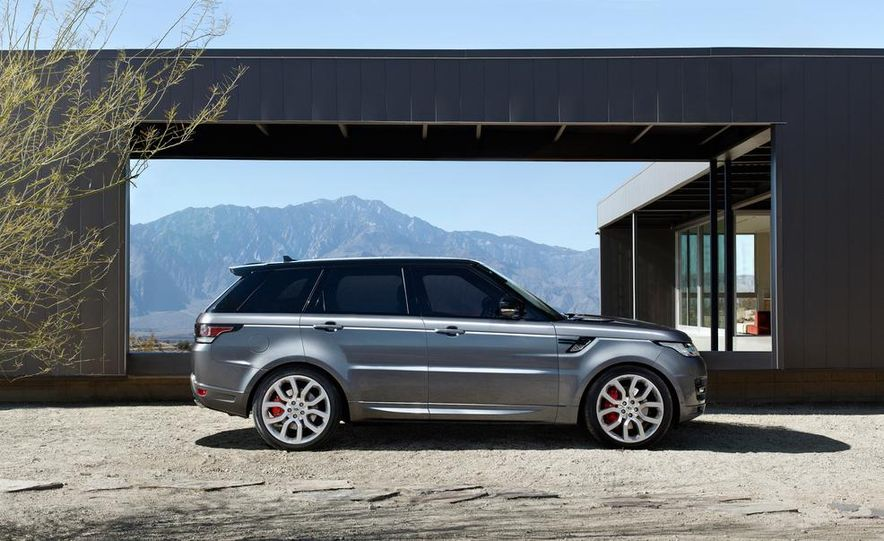 2014 Land Rover Range Rover Sport - Slide 41