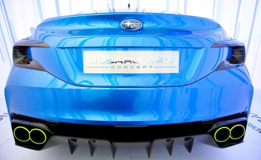 Subaru WRX concept - Slide 26