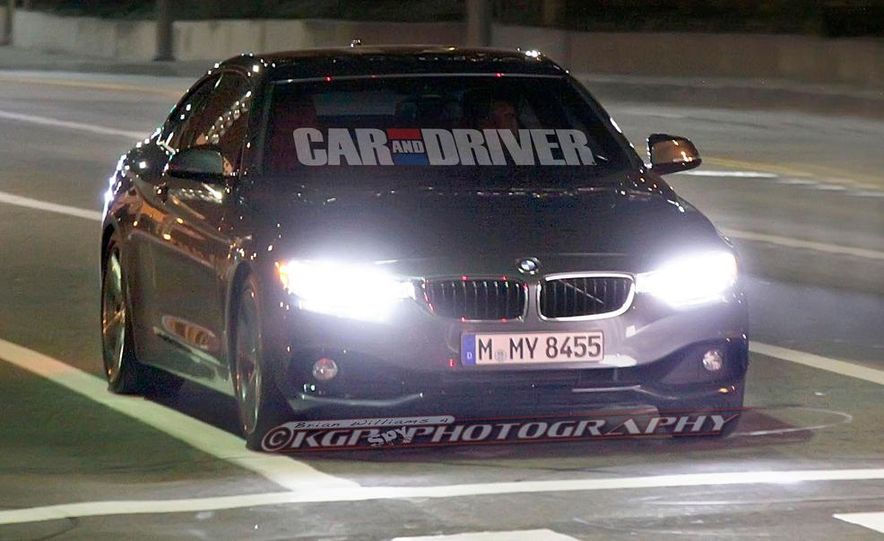 2014 BMW 435i coupe (spy photo) - Slide 1