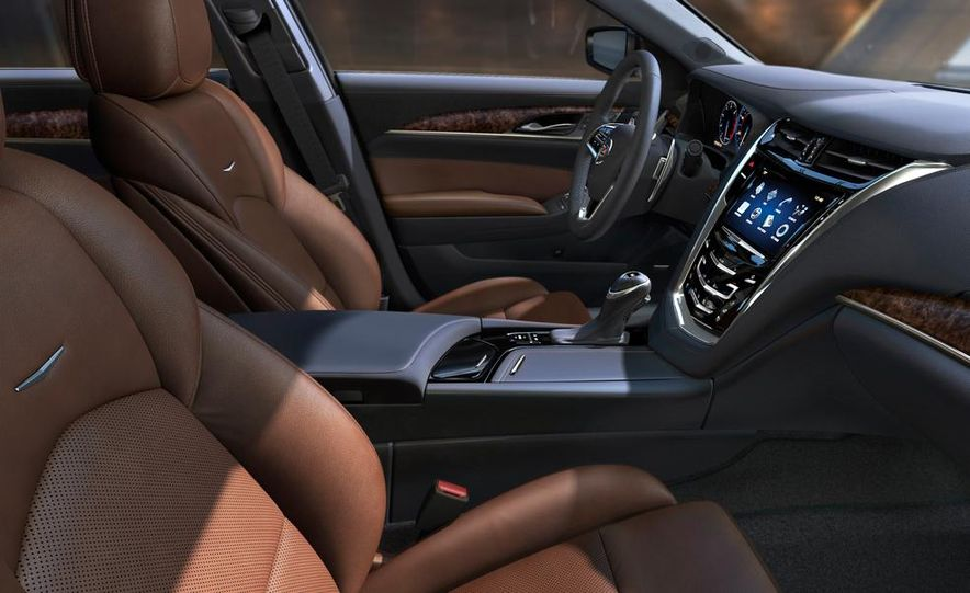 2014 Cadillac CTS Vsport - Slide 39