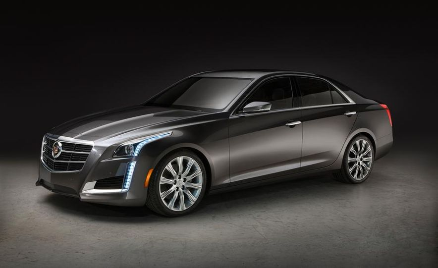 2014 Cadillac CTS Vsport - Slide 22