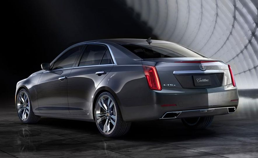 2014 Cadillac CTS Vsport - Slide 27