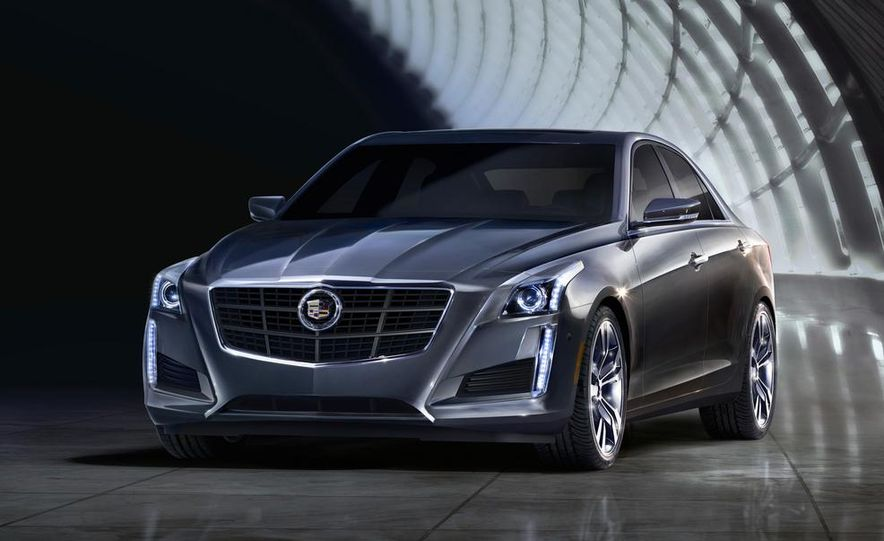 2014 Cadillac CTS Vsport - Slide 23