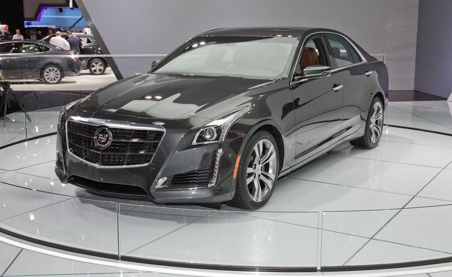 2014 Cadillac CTS Vsport - Slide 4
