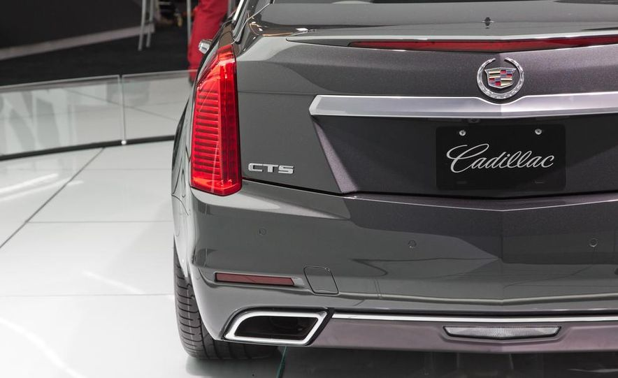 2014 Cadillac CTS Vsport - Slide 20