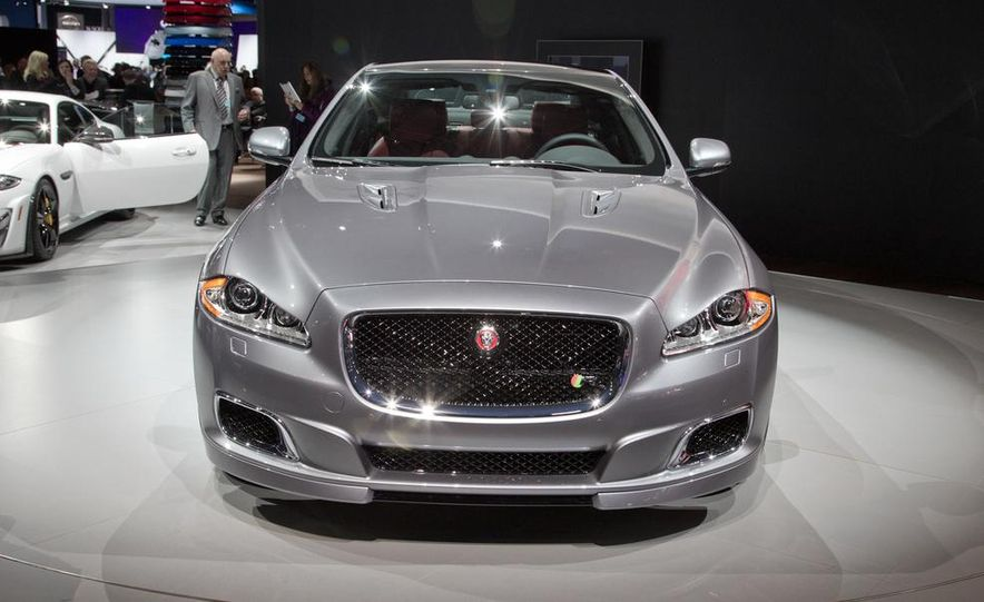 2014 Jaguar XJR - Slide 5