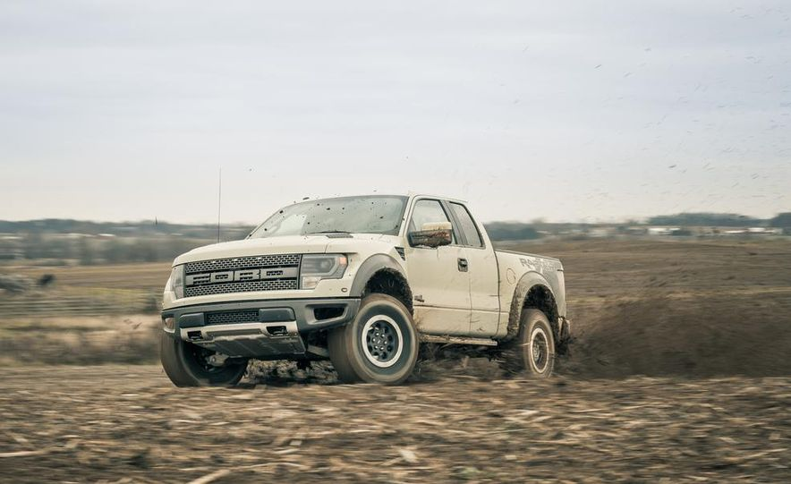 2013 Ford F-150 SVT Raptor SuperCab - Slide 7