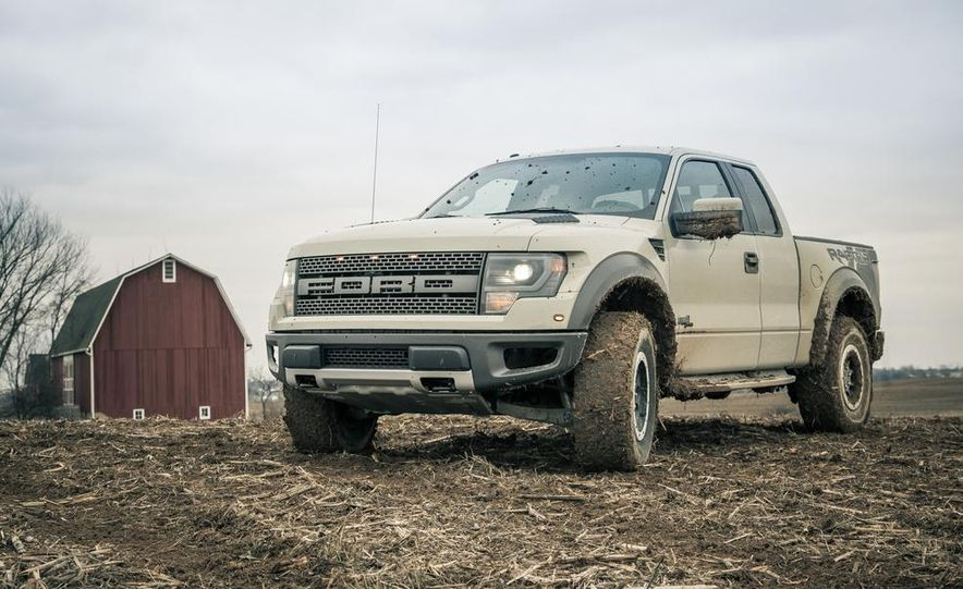 2013 Ford F-150 SVT Raptor SuperCab - Slide 19