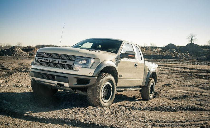 2013 Ford F-150 SVT Raptor SuperCab - Slide 25