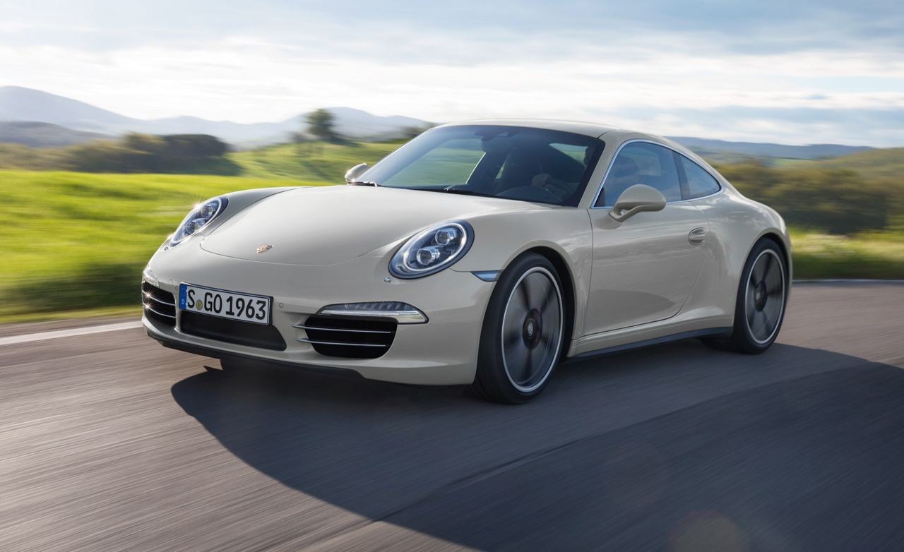 2013 Porsche 911 50th Anniversary Edition Coupe