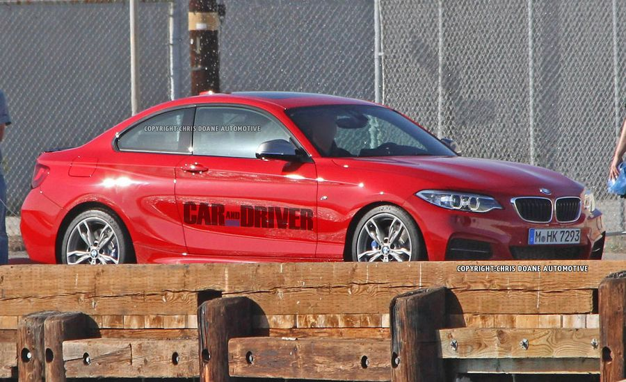 2014 BMW 2-series M Sport / M235i Spy Photos