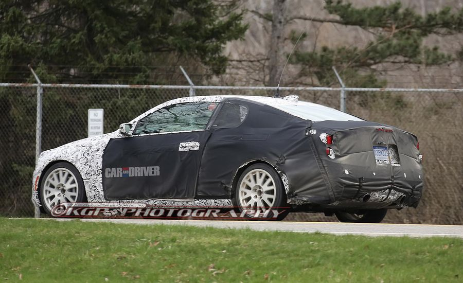 2014 Cadillac ATS Coupe Spied