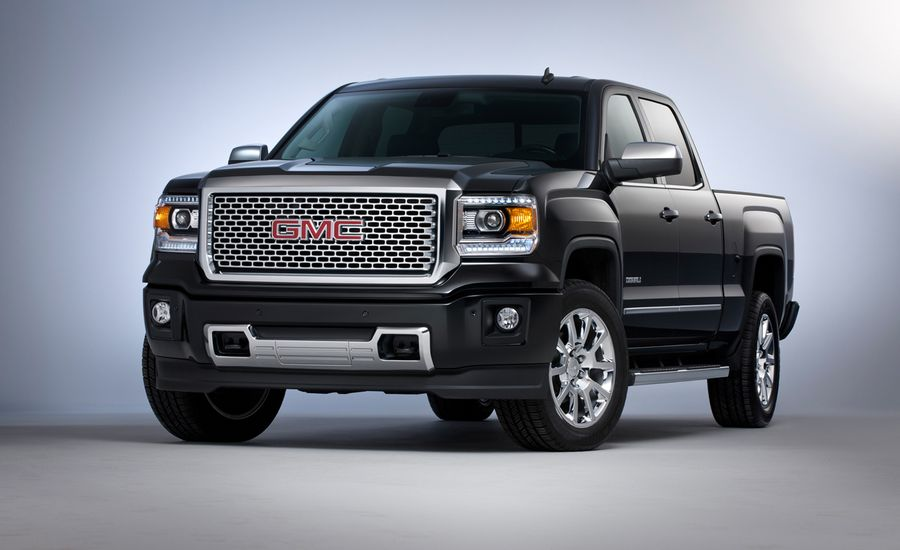 2014 gmc sierra denali photos and info news car and driver. Black Bedroom Furniture Sets. Home Design Ideas