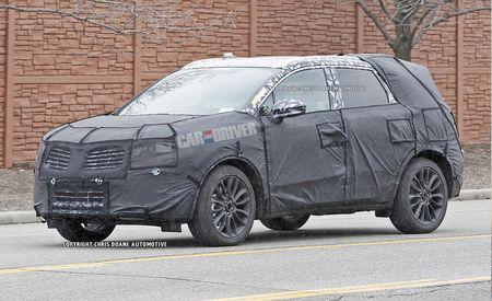 2014 Lincoln MKC Spy Photos
