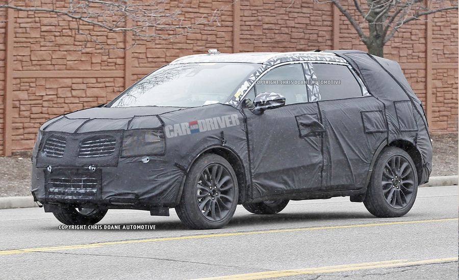 2014 Lincoln MKC Spy Photos