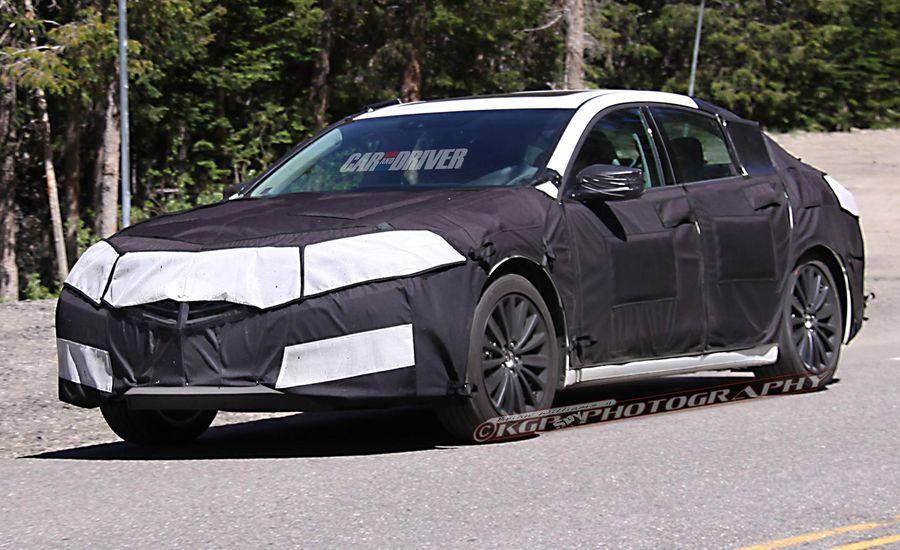 2015 Acura TLX Spy Photos