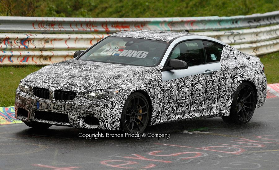 2015 BMW M4 Spy Photos