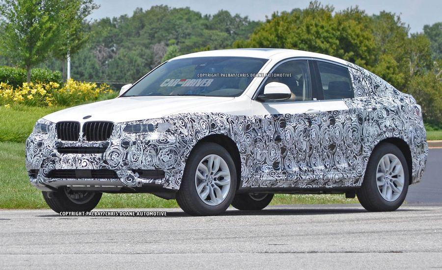 2015 BMW X4 Spy Photos