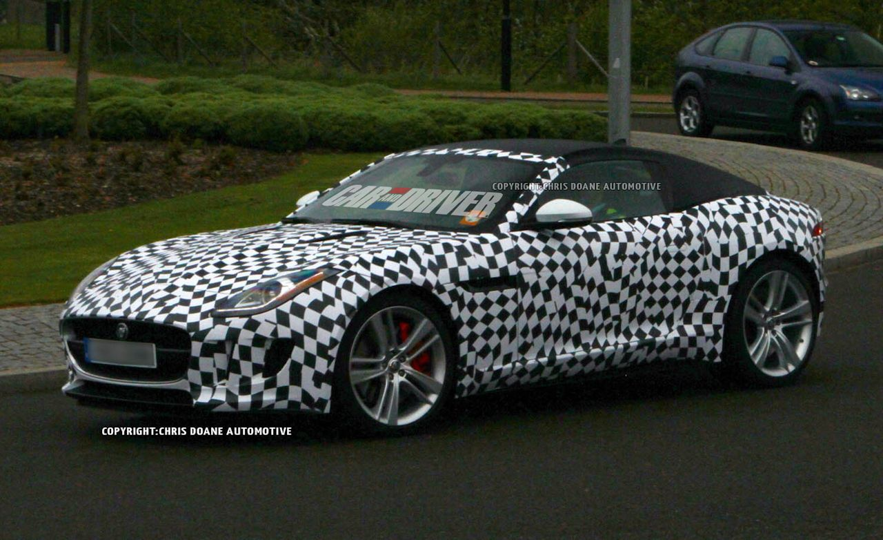 2015 Jaguar F-type Coupe Spy Photos
