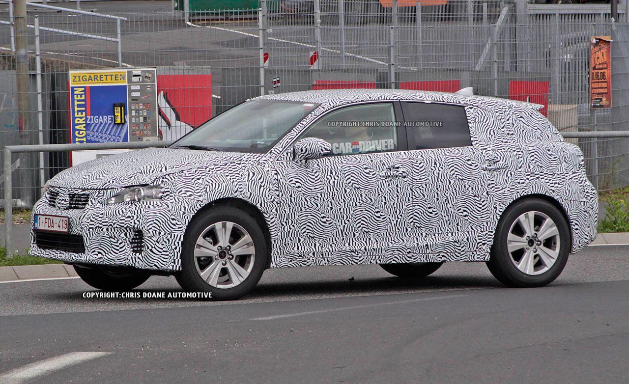 2015 Lexus NX Spy Photos