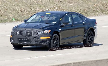 2015 Lincoln MKS Spy Photos