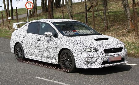 2015 Subaru WRX / WRX STI Spy Photos