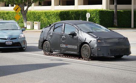 2015 Toyota Prius Spy Photos