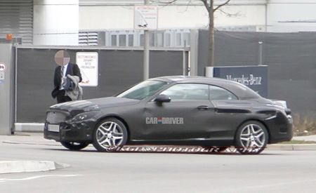 2016 Mercedes-Benz C-class Cabriolet Spy Photos