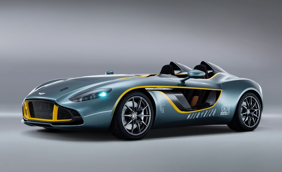 Aston Martin CC Speedster Concept Photos And Info News Car - Aston martin concept