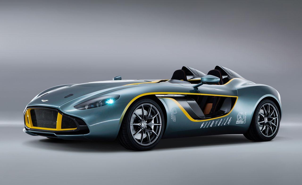 Merveilleux Aston Martin CC100 Speedster Concept