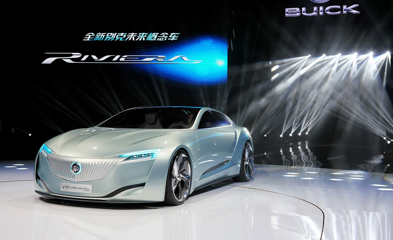 Buick Riviera Concept: Look Closely for a Peek at the Brand's Future