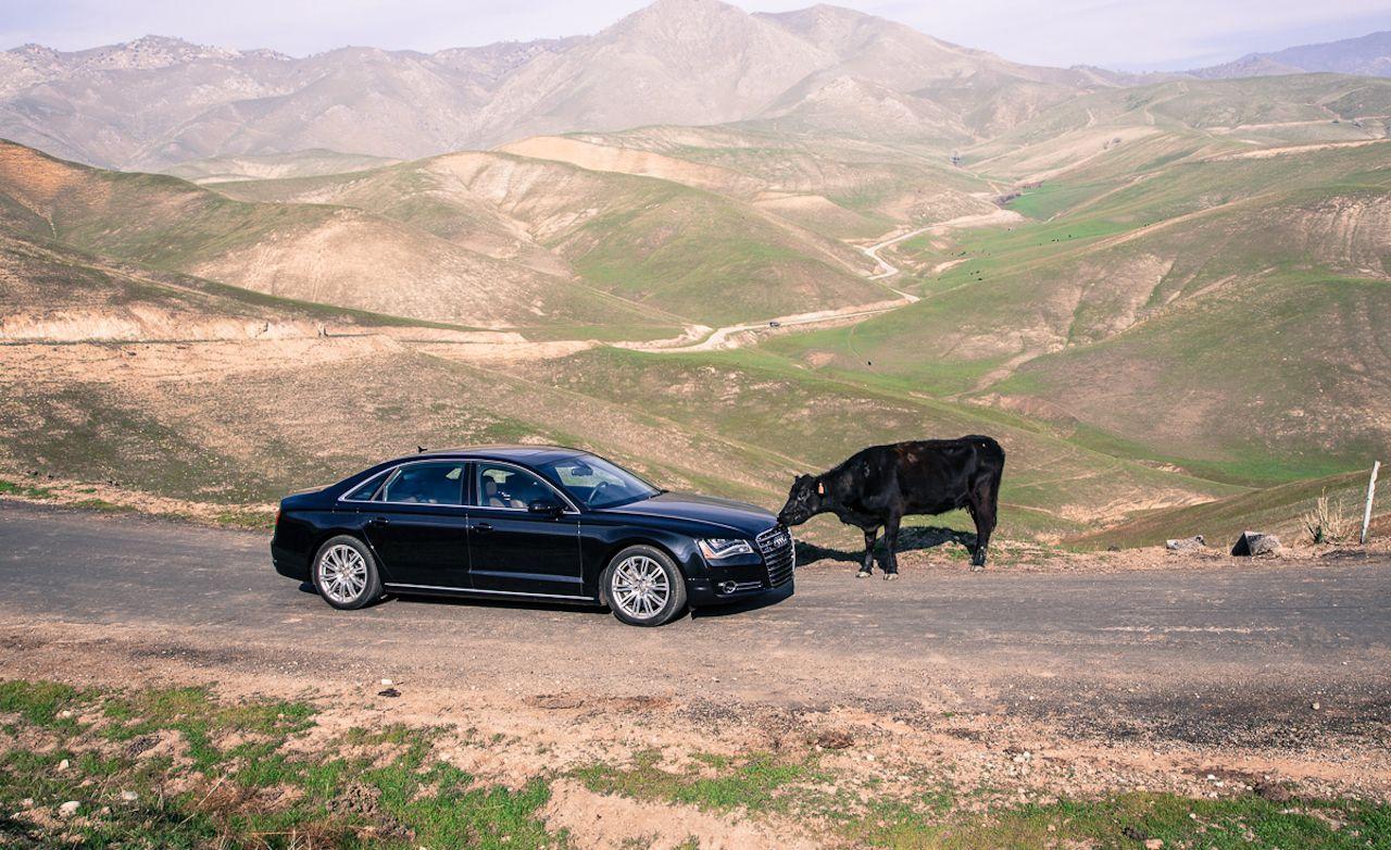 2013 Audi A8l 4 0t Test Review Car Driver 40t