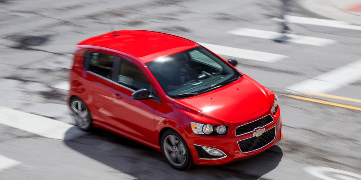 2013 Chevrolet Sonic Rs Manual Test 8211160review 8211160