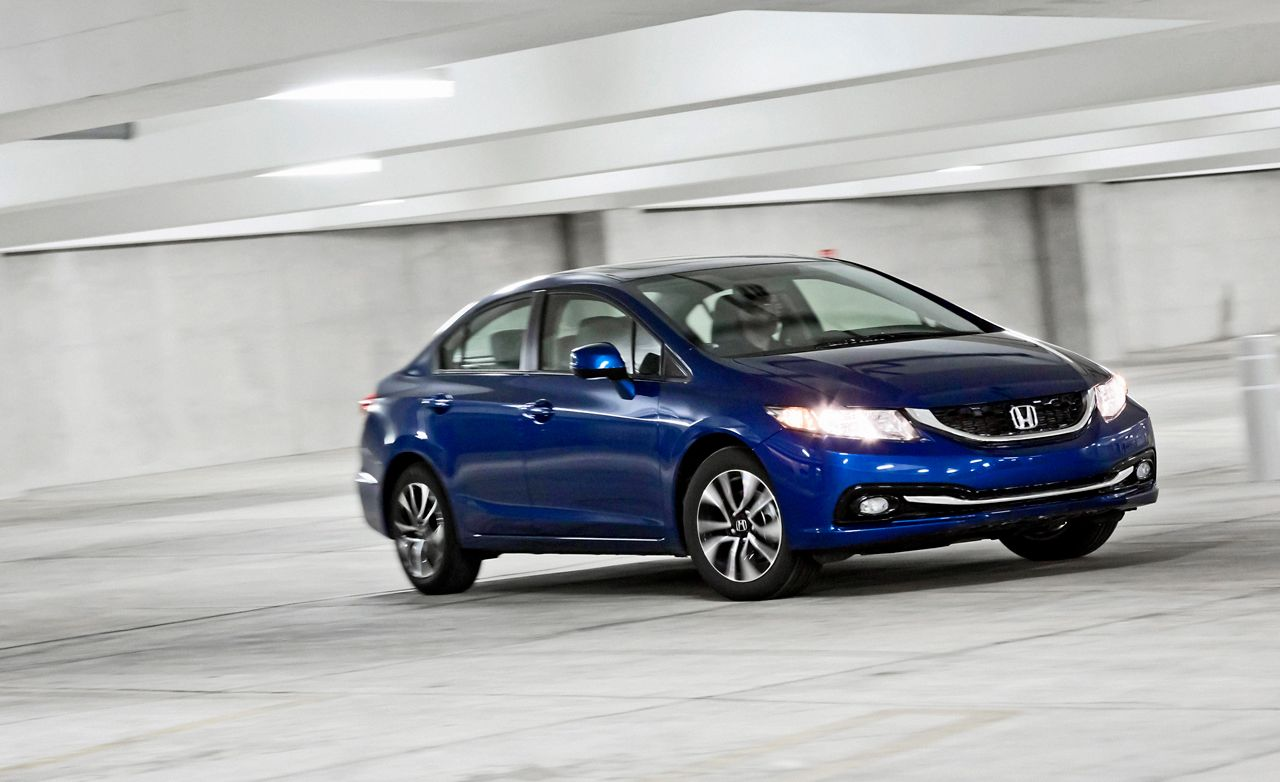 2013 Honda Civic EX L Sedan