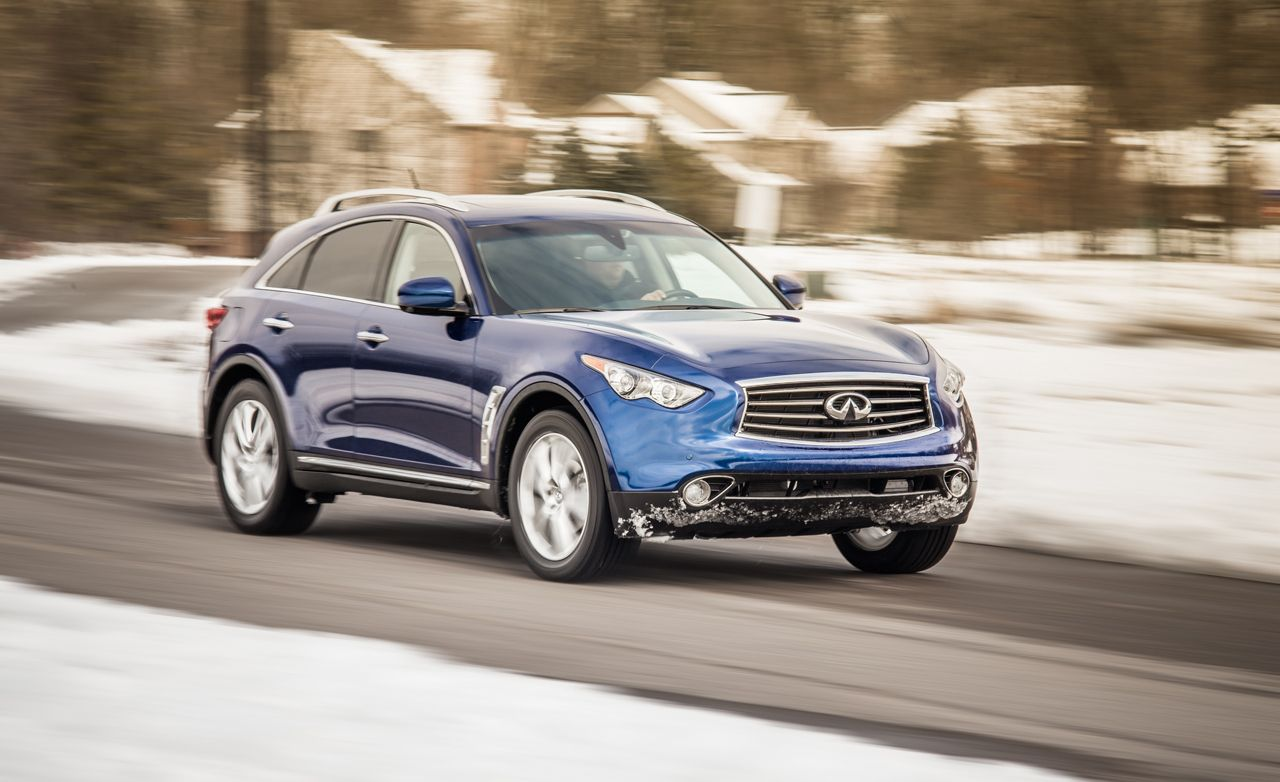 Infiniti fx reviews infiniti fx price photos and specs car 2013 infiniti fx37 awd vanachro Choice Image