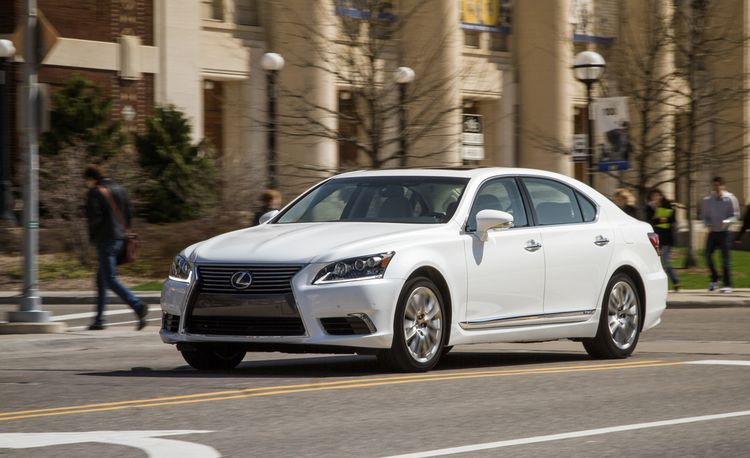 2010 Lexus Ls460 With Sport Package