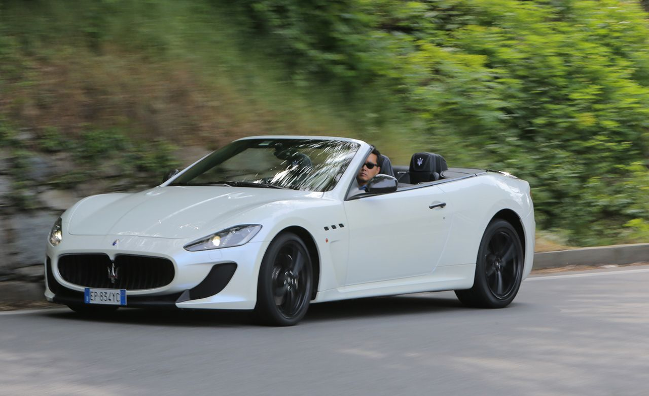 2013 Maserati GranTurismo MC Convertible First Drive | Review | Car ...