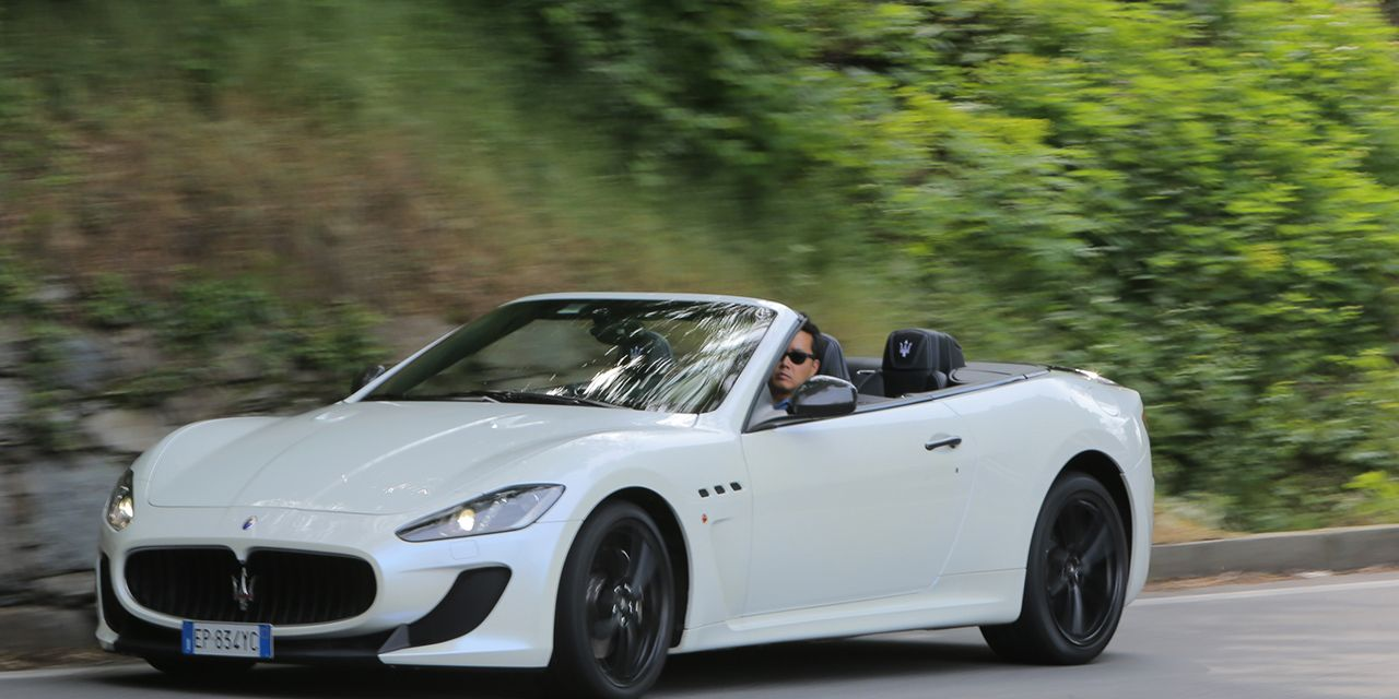 2013 Maserati GranTurismo MC Convertible