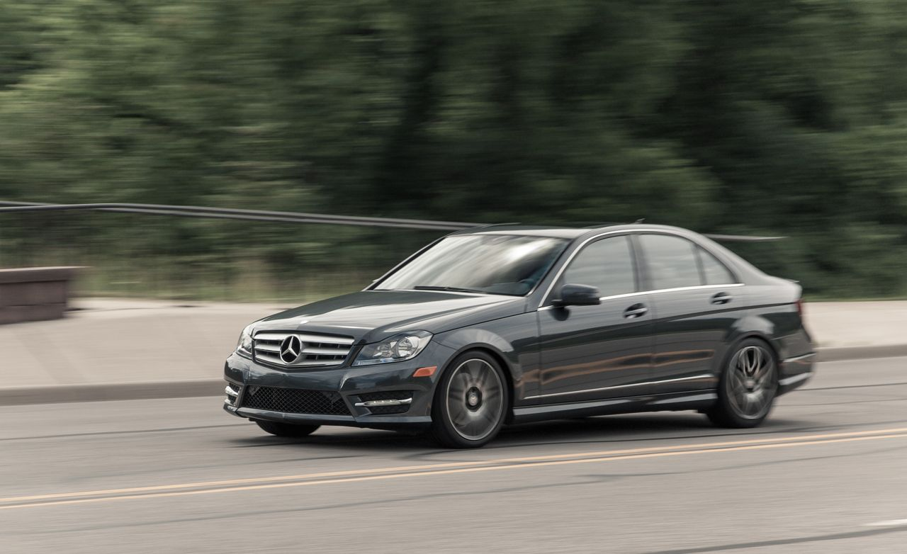 2013 mercedes-benz c300 4matic sedan test – review – car and driver