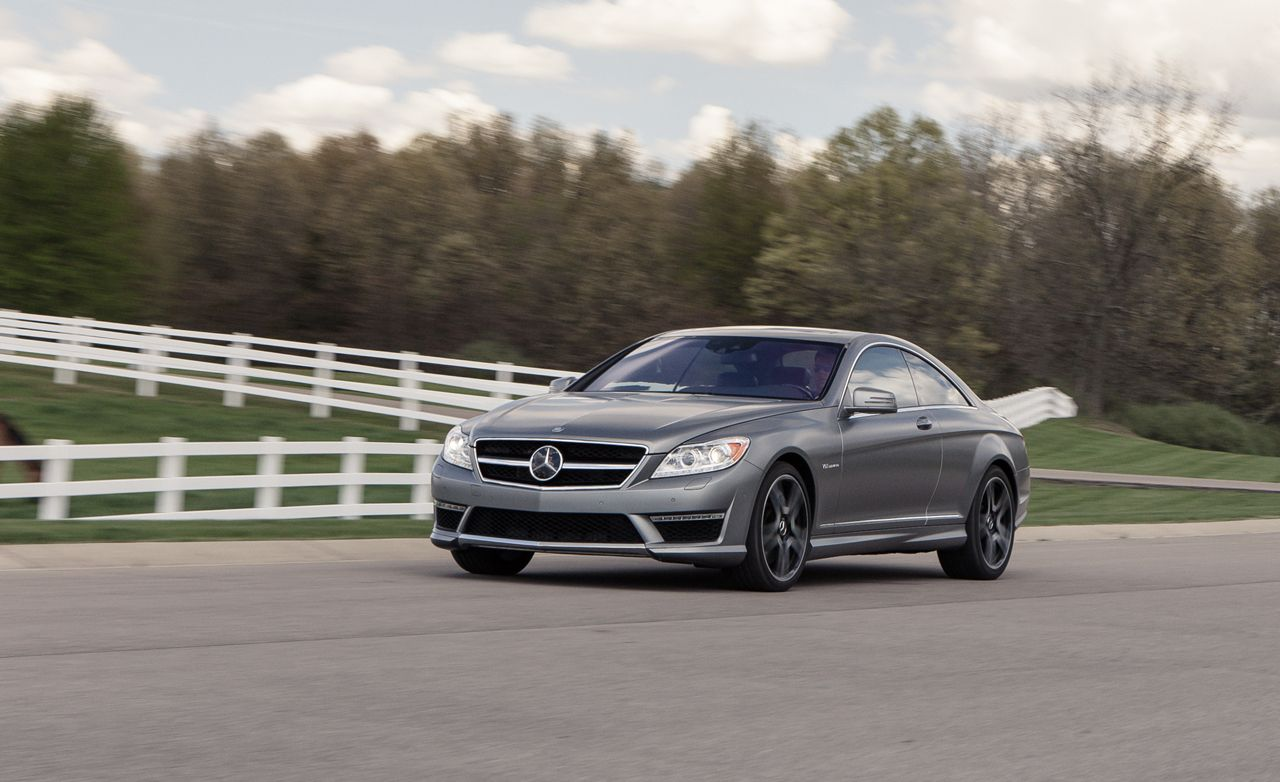 2013 Mercedes Benz Cl65 Amg Instrumented Test Review Car And Driver S Cl
