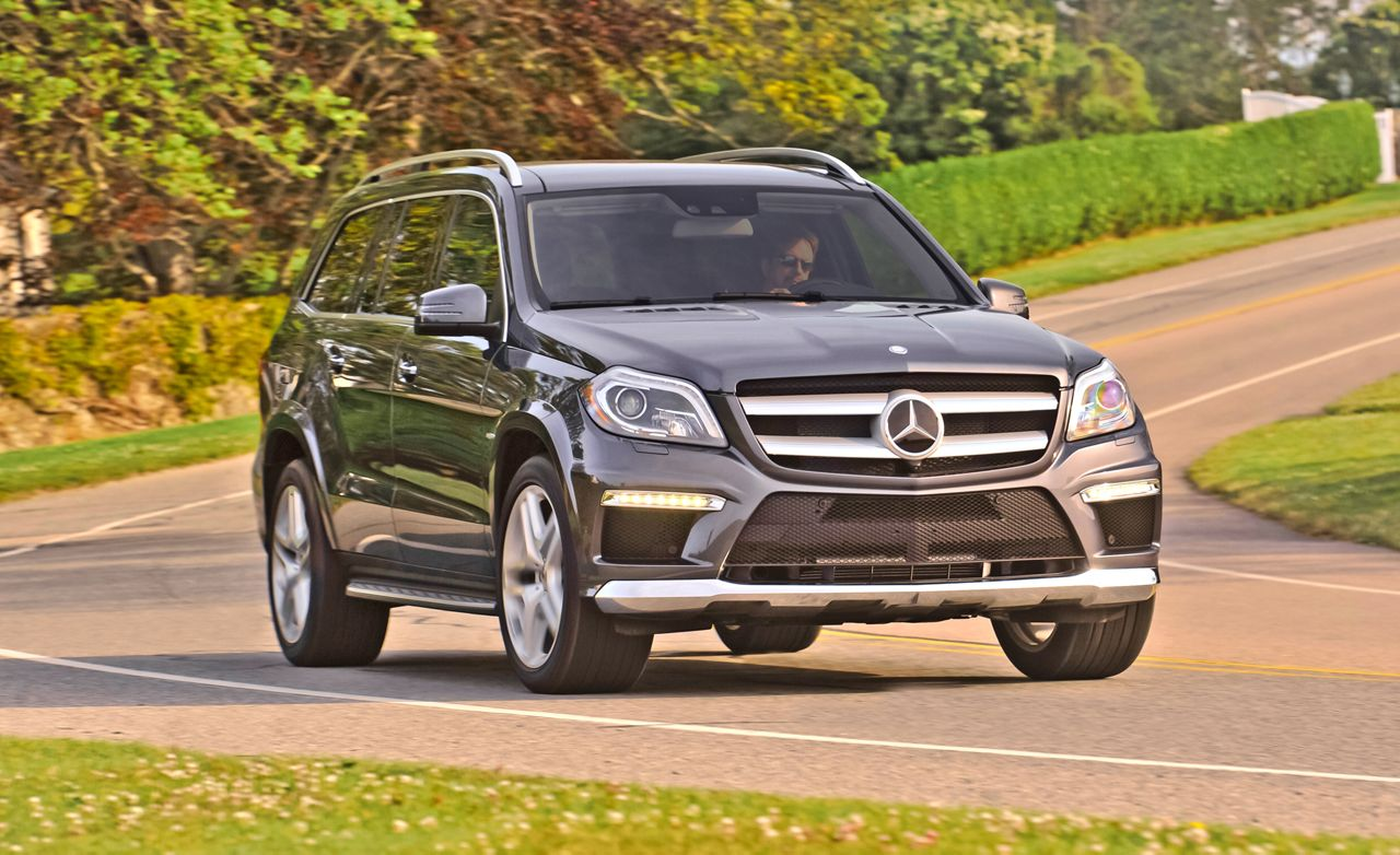 2013 Mercedes Benz GL550 4MATIC