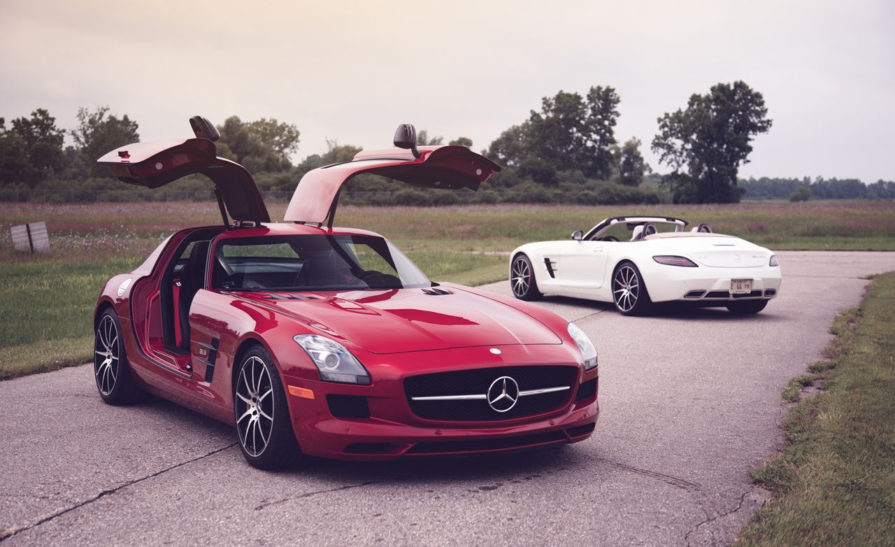 2013 Mercedes Benz SLS AMG GT Coupe And Roadster