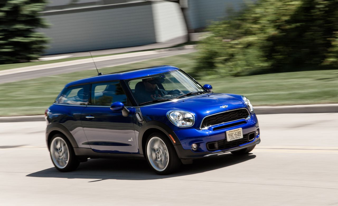 2013 mini cooper s paceman all4 test review car and driver. Black Bedroom Furniture Sets. Home Design Ideas