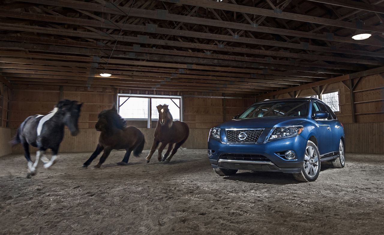 2013 nissan pathfinder awd long term test review car and driver rh caranddriver com Used Car Buyers Guide Ireland Car Buyers Guide