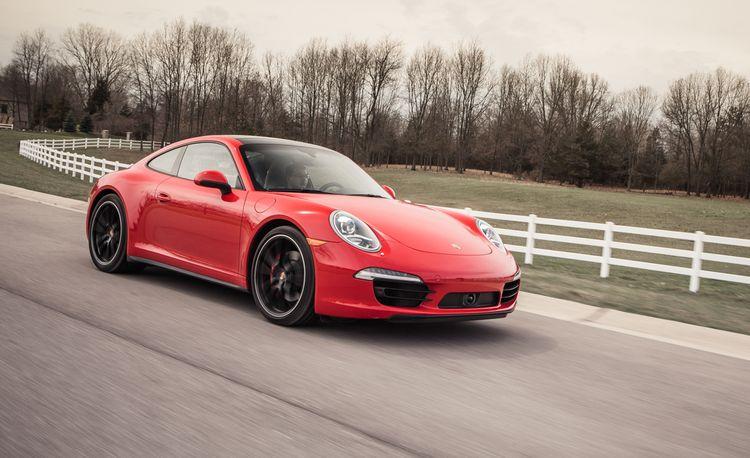 2013 Porsche 911 Carrera 4S Automatic